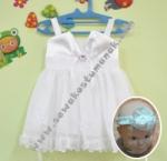 Baju Pesta Bayi - Putih