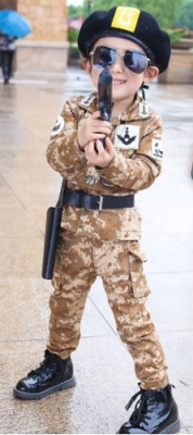 Kostum tentara korea  large