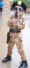 Kostum tentara korea  medium
