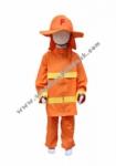 Kostum Pemadam Kebakaran - Orange