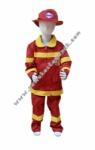 Kostum Pemadam Kebakaran - Merah
