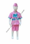 Kostum Profesi Pramugari - Pink Tosca