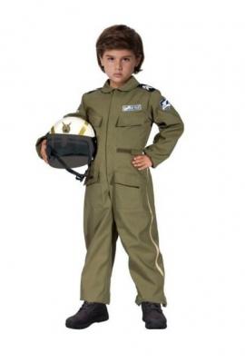 d kostum pilot pesawat tempur  large