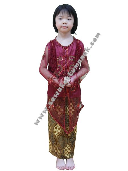 Pakaian Adat Jawa Kebaya Anak Sewa Kostum Anak
