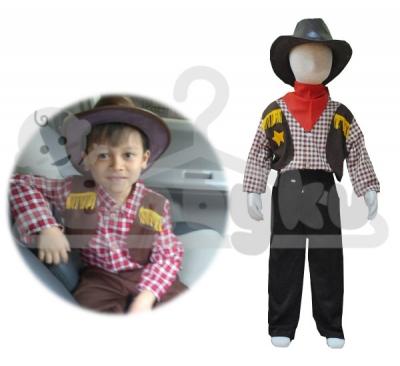 kostum cowboy  large