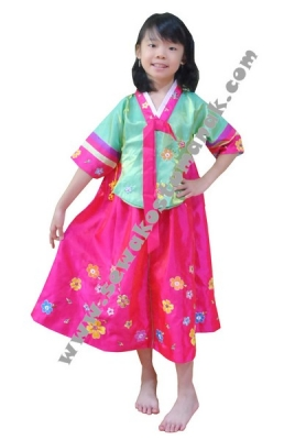 kostum korea girl  large