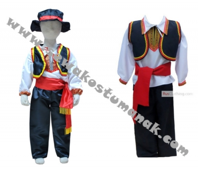kostum rumania boy  large