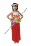 Kostum Negara Hawaii - Merah