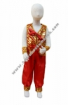 Kostum Negara India - Merah Small