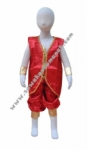 Kostum India - Merah Boy Big