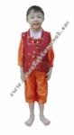 Kostum Negara Korea - Boy Orange