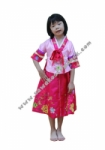 Kostum Negara Korea - Girl Pink