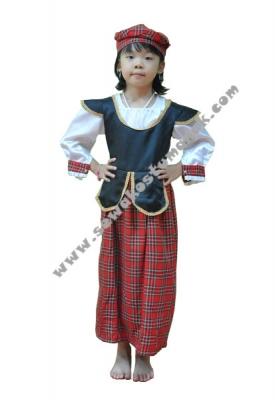 kostum internasional scotland  large