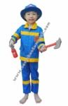 Kostum Pemadam Kebakaran - Biru