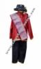 pakaian adat  batak  boy merah  medium