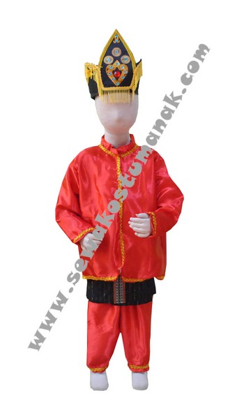 Pakaian Adat Gorontalo | Baju adat anak | Kostum Adat ...