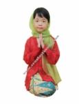 Baju Adat Betawi - None Merah